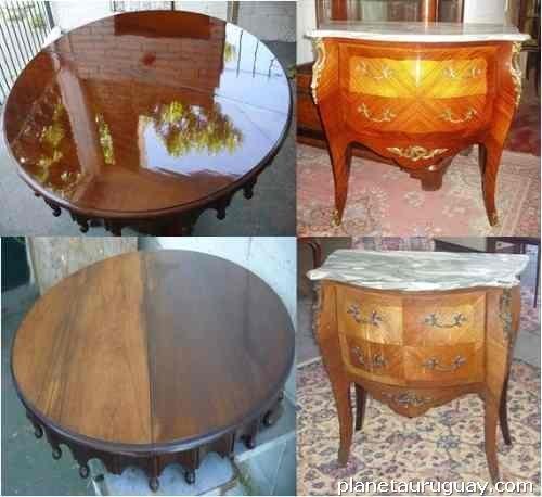Restauraci n de muebles madera viva en montevideo capital for Clases de restauracion de muebles